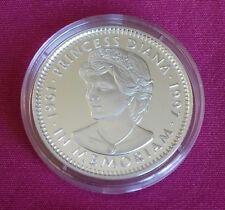 1997 DIANA $20 LIBERIA COMMEMORATIVE COIN