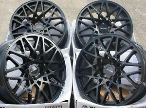 "Alloy Wheels 18"" LG2 For Vauxhall Signum Speedstar Vectra C Zafira 5x110 Black"