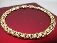 Bracelet homme en or massif 4mm n femmes 7 '