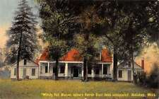 Natchez Massachusetts Windy Hill Manor Exterior Antique Postcard K13977