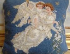 Collectible Needlepoint Completed, Mother And Child, Great Condition, Angel