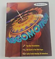 Vintage MetaCreations Logomotions 3D Animation Graphic Computer Software