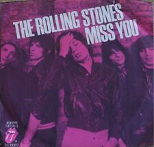 """ROLLING STONES, MISS YOU FAR AWAY EYES - 7"""" RS-19307"""
