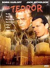 The Terror DVD (2000) Boris Karloff Jack Nicholson