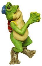 Large Diving Scuba Frog Figurine