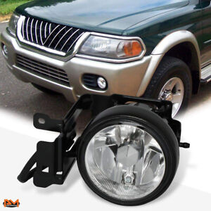 For 00-04 Mitsubishi Montero Sport OE Style Front Bumper Fog Light/Lamp Left LH
