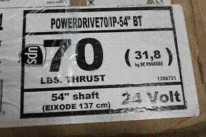 """Minn Kota PowerDrive 70 w/ i-Pilot & Bluetooth (70 Lbs. Thrust, 54"""" Shaft)"""