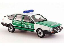VW VOLKSWAGEN PASSAT 1 GL TYP B2 POLIZEI 1985 1/43 1:43 WHITEBOX MK1 POLICE