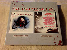 SUSPERIA - Predominance / Vindication LTD ED DIGI 2CD BRAND NEW & SEALED!