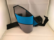 Fanny hip pack water bottle holder velcro adjustable running