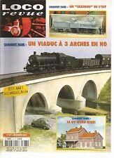 LOCO REVUE N°677 COMMENT FAIRE UN VIADUC A 3 ARCHES EN HO ET UN CRAPAUD DE L'EST