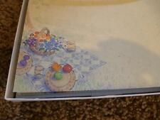 Hallmark Stationary Picnic Basket Envelope Vintage Writting Set Paper 1970's