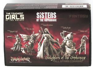 Raging Heroes 24759 Daughters of the Orphanage All Stars Command Sisters Female
