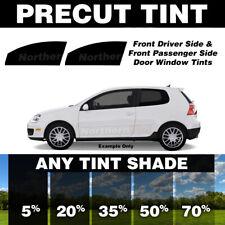 2007 and newer 35/% Light Smoke Pre cut window tint Front windows Fiat 500 3-door Hatchback