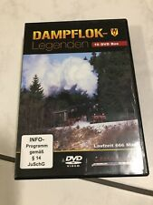 RioGrande DVD Box Dampflok Legenden 8Dvds