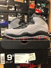 Air Jordan Retro 10 X Infrared Cool Grey Nike 1 og xi v black bred vnds Size 9.5