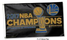 2017 NBA Champions Golden State Warriors 3x5 Flag
