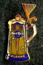 HRC Hard Rock Cafe Cologne Köln Beer Stein Mug Naked Girl