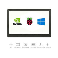 New 7 inch IPS LCD Display Screen Aluminum Alloy Case For Raspberry Pi PS4 XBOX