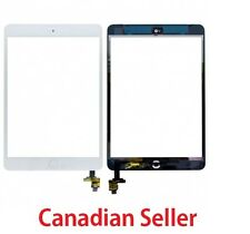 New iPad Mini 1 & 2 Glass Digitizer Touch Screen IC Chip Flex white Assembly