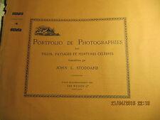 Portfolio de Photographies par J. L. STODDARD N°4 La grotte de Fingal, Ecosse