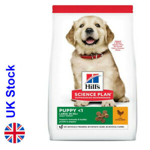14.5kg Hill's Science Plan Puppy <1 Large Breed with Chicken Healthy Growth