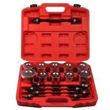 Universal 27pcs Press And Pull Sleeve Kit Remove Install Bushes Bearings Garage