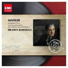 JOHN BARBIROLLI/NPOL - GUSTAV MAHLER-SINFONIE 5  (CD)  NEU