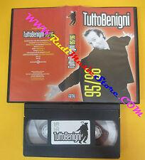 film VHS TUTTOBENIGNI 95/96 Tutto Roberto Benigni 1996 CECCHI GORI (F117) no dvd