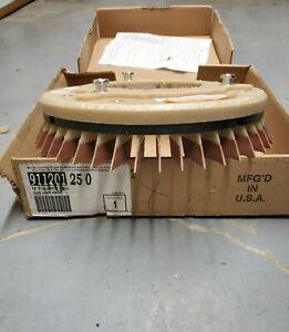 911201250 - DIAMABRUSH - 12 inch Polishing Abrasive Pad - 1000 Grit Red