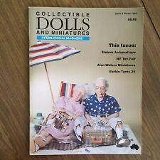 COLLECTIBLE DOLLS AND MINIATURES International Magazine, 1994, Barbie, Steiner