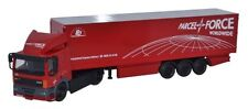 BNIB OO GAUGE OXFORD 1:76 76DAF002 DAF 85 40FT BOX TRAILER PARCELFORCE LORRY