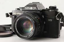 【N.MINT++】Minolta New X-700 Black Body, MD Rokkor 50mm Lens, Etc from Japan #B35