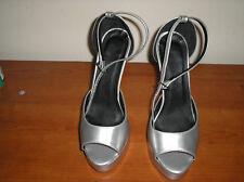 Scarpe donna  open toe JIMMY CHOO n. 38 argentate
