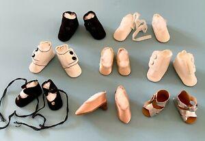 Vintage Madame Alexander Doll Shoes, Boots, Sandals McGuffey Ana Margaret Elise