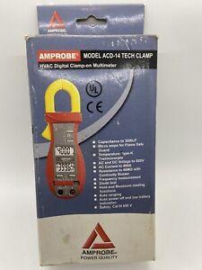 Amprobe Multimeter Model ACD-14 Tech Clamp HVAC Digital Clamp-On Multimeter