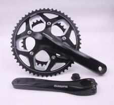 Shimano FC-RS500 Crank 6 25/32in 52/36 Teeth Holllowtec 2 Road Bike Black - New