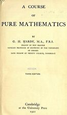 A Course of Pure Mathematics * Algebra * Calculus * CDROM * PDF
