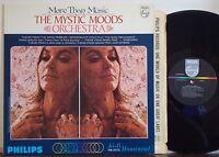 "DON RALKE MYSTIC MOODS ORC ""More Than Music"" RARE EXC 1967 A1 DG PHILIPS MONO LP"