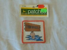 1972 JOHN DEERE PATCHES THIN WATER TY1299 PATCH IN ORIGINAL PACKAGING