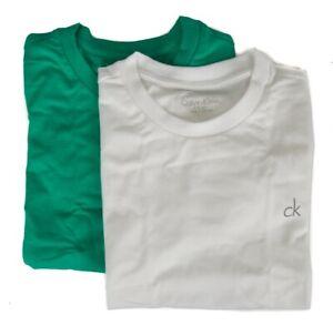 Pack of 2 short sleeve t-shirts round neck boy male CK CALVIN KLEIN B70B700018 I