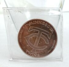 Minnesota Twins 1987 American League Champions 1 Troy Oz 999 Silver Coin