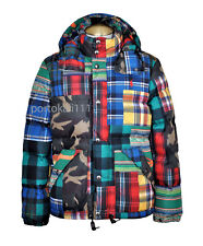 Polo Ralph Lauren Men's Patchwork Quilted Down Jacket XS/TP Blue NWT $398