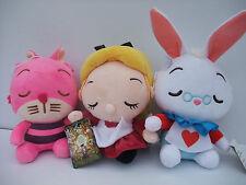 Alice in Wonderland ,Cheshire Cat, Rabbit  20cm ,Set 3