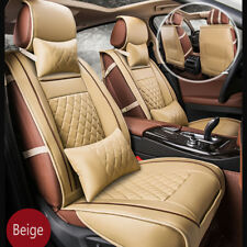 High Quality Luxury PU leather Ford Mondeo Car Full Set Seat Cover Beige Cushion