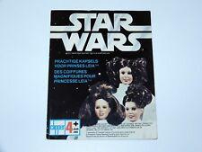 "STAR WARS 1977 PROMO CATALOG 12"" PRINCESS LEIA 'PRACHTIGE KAPSELS' CLIPPER NL"