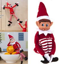 """Elf Boy Girl Elves Behavin Badly 12"""" Stock Shelf Sitting Toy Doll Mystery Doll"""