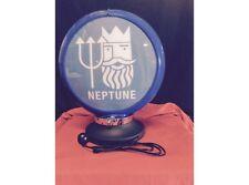 NEW Petrol Bowser Globe and Base Neptune illuminated sign
