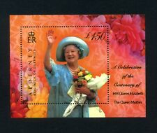 ALDERNEY  2000  Queen Mother's 100th Birthday  Miniature sheet   SG MSA153  MNH