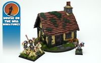 House On the Hill - Small Fantasy Cottage - 28mm Scale Table-top Gaming Scenery
